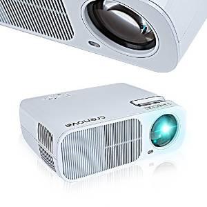 Crenova XPE600 Tragbarer HD Projektor
